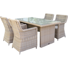 ASHBURTON - Outdoor Wicker Rectangle Dining Table - Furniture Star Direct