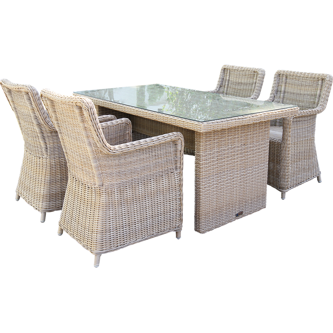 ASHBURTON - Rectangle Outdoor Dining Table