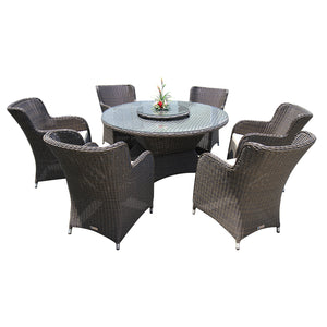 Richmond 8 Piece Outdoor Wicker Dining Set