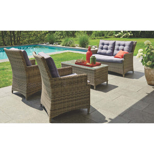 ESSENDON - 4 Piece Outdoor Setting - Furniture Star Direct