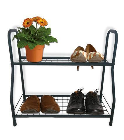 BAYSIDE - Simple Flower/Pot Plant Stand 2-Tiers - Furniture Star Direct