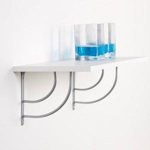 2x MINI DOUBLE-SWING 145 - Shelf Wall Mounted Brackets - Furniture Star Direct