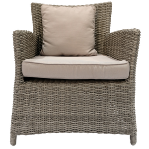 GLEN IRIS - Outdoor Wicker Single Seat Sofa - Furniture Star Direct