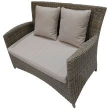 PRE-ORDER GLEN IRIS - Outdoor Wicker Double Seater Sofa - Furniture Star Direct