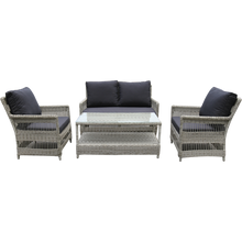 EAGLEMONT - Outdoor Wicker Double Seater Sofa - Furniture Star Direct