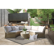 MALVERN - Outdoor Modular Semi-Circle Lounge Set