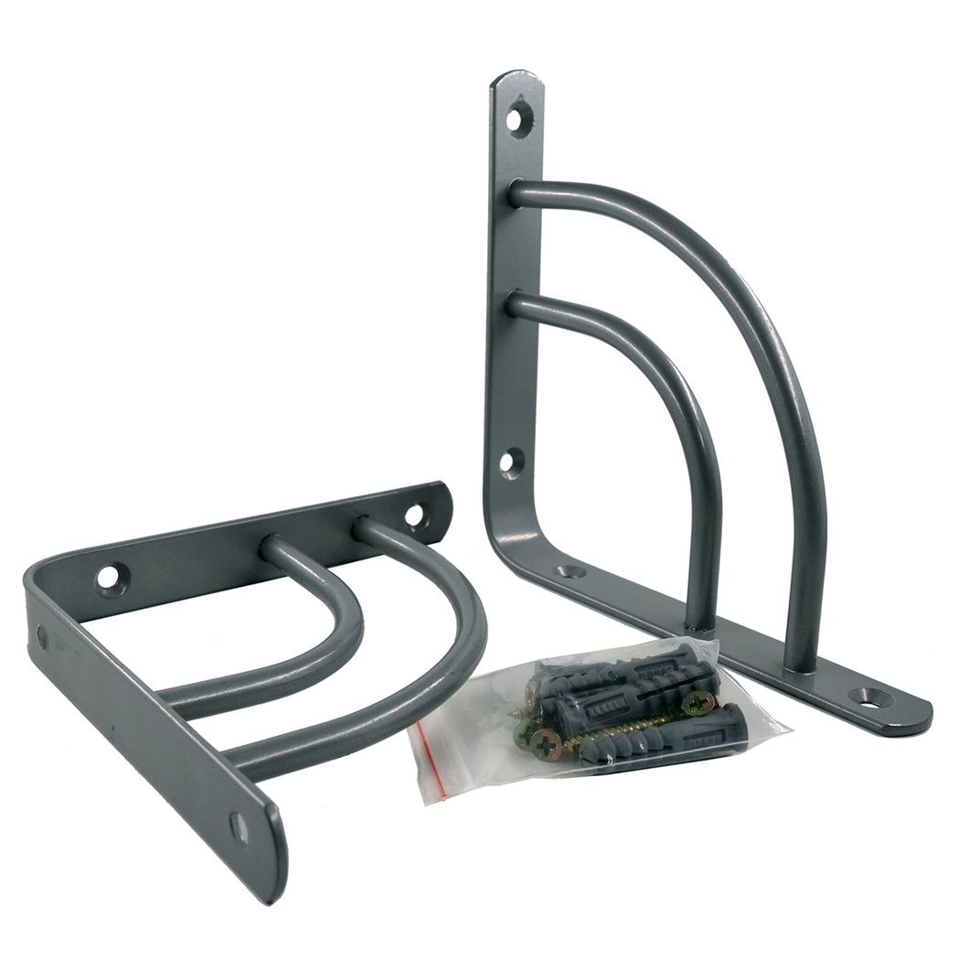 2x DOUBLE-SWING 195 - Shelf Wall Mounted Brackets with hardware
