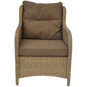 PRE-ORDER MONT ALBERT - Outdoor Wicker Single Seater Sofa - Furniture Star Direct