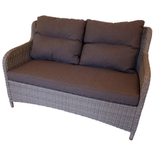 Mont Albert Outdoor Wicker Double Sofa