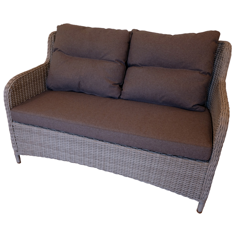 MONT ALBERT - Outdoor Wicker Double Seaters Sofa - Furniture Star Direct