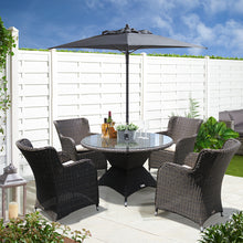 ORMOND - 5 Piece Outdoor Dining Setting
