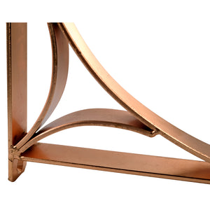 2x PRINCE COPPER 195 - Wall Mounted | Bookshelf Brackets with hardware - Furniture Star Direct