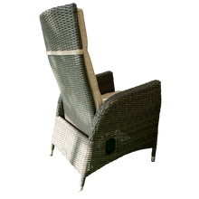 McKinnon Outdoor Wicker Recliner Chair