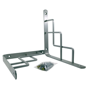 2x STEP 195 - Wall Mounted Shelf Brackets with hardware