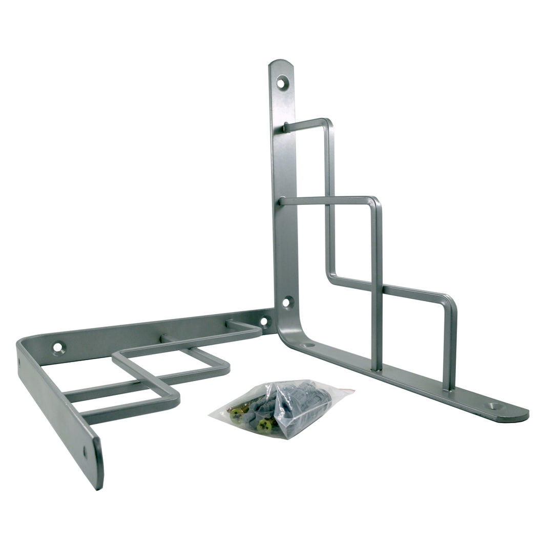 2x STEP 195 - Wall Mounted Shelf Brackets with hardware - Furniture Star Direct
