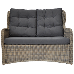 Toorak Outdoor Wicker Double Seater Sofa