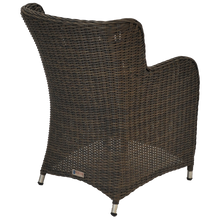 Outdoor Wicker Round Back Chair