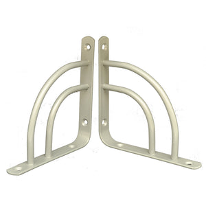 2x MINI DOUBLE-SWING 145 - Shelf Wall Mounted Brackets with hardware - Furniture Star Direct