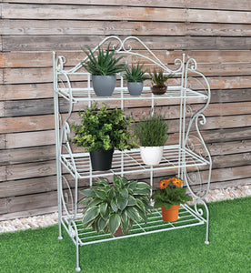 RESERVOIR - 3 Tiers Plant Stand Pot Rack Garden Flower Display Shelf Storage