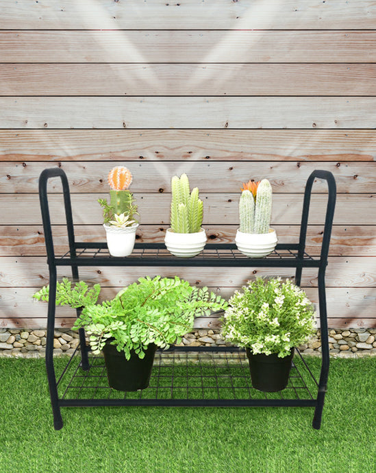 BAYSIDE - Simple Flower/Pot Plant 2-Tiers Stand