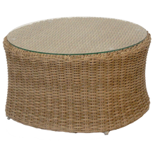 MALVERN - Outdoor Wicker Round Coffee Table