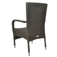 Niddrie Outdoor Wicker Stacking Armchair