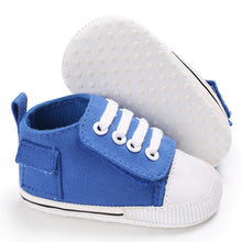 White Baby Canvas Shoes