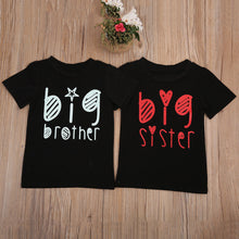 Big Brother and Big Sister Short Sleeve T-Shirts