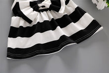 Black striped Bow Top and Shorts Set