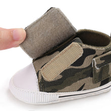 Camo Baby Canvas Shoes