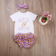 Daddy's Girl & Mummy's World Romper Set