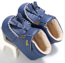blue Beautiful first walker shoes perfect for Spring/Autumn.