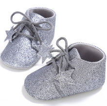 Black Baby Glitter Shoes