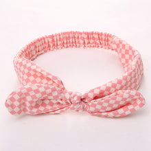 tartan red Girls Bowknot Hair Accessory