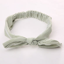 green Girls Bowknot Hair Accessory