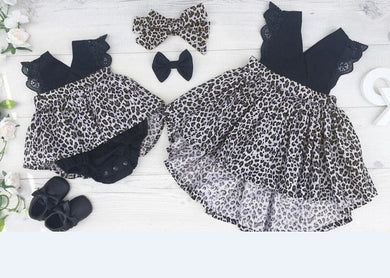 2 Pc Leopard print set
