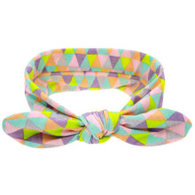 Triangle print headband