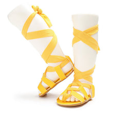 Fashionable girls summer gladiator sandals