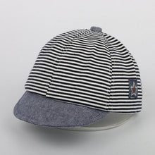 Grey Gorgeous striped Jazz Cap!