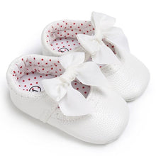 Beautiful girls bowknot princess slipper soft shoes.