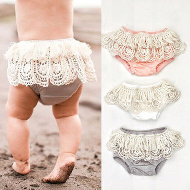 Cute lace frilly tutu bloomers