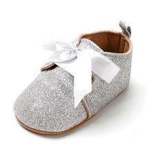 Silver  Bling Soft Shoes