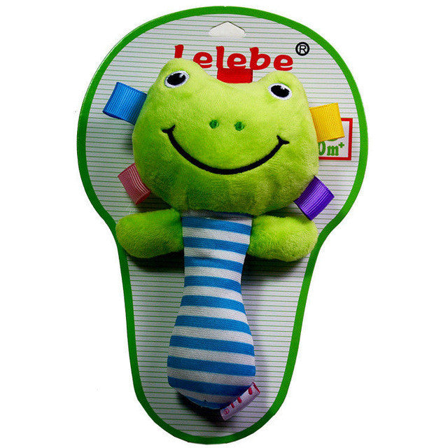 Plush Rattle Toy