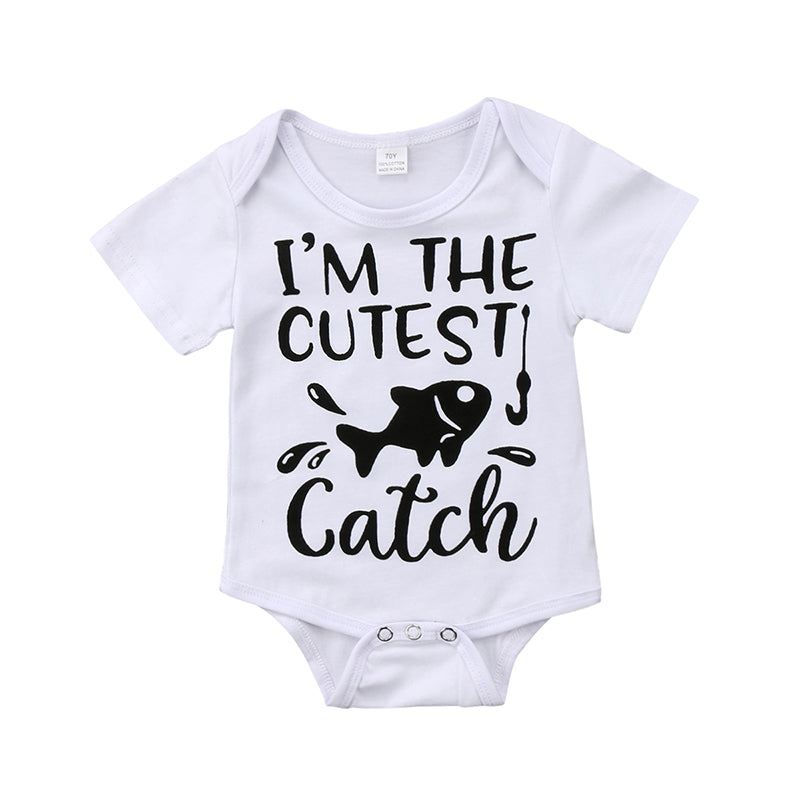 The Cutest Catch Romper