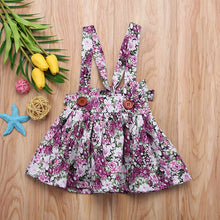 Floral Pinafore Sundress