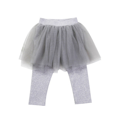 Grey Tutu Leggings
