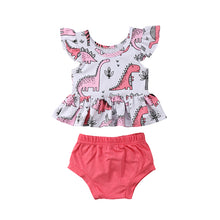 Girls Dinosaur Set
