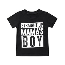 STRAIGHT UP MAMA'S BOY T-shirt