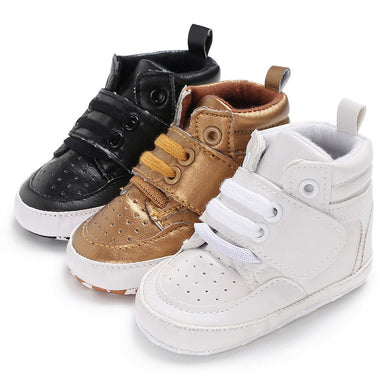 Hightop Anti-slip Crib Shoe