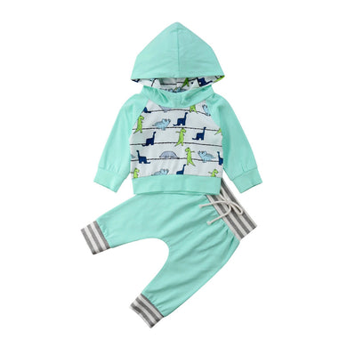 Dinosaur Hooded Set